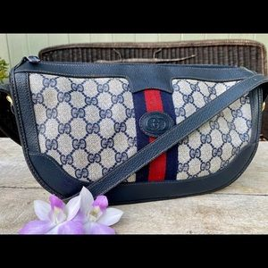 Authentic Gucci Vintage Sherry Crossbody Bag Rare!